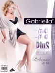 Rajstopy Gabriella Rubensa Plus Size 161 20 den 6-7
