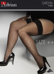 Pończochy Adrian Gwenn Size ++ 15 den 5-8XL