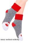Skarpety Steven art.154 Świąteczne Frotte dziecięce 20-25