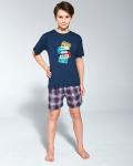 Piżama Cornette Young Boy 790/91 Rock kr/r 134-164