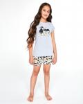 Piżama Cornette Young Girl 788/87 Cats kr/r 134-164