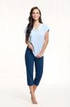 Piżama Luna 603 kr/r 4XL damska