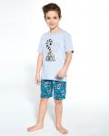 Piżama Cornette Young Boy 790/95 Lemuring kr/r 134-164