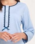 Piżama Luna 500 dł/r M-2XL damska