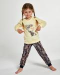 Piżama Cornette Kids Girl 594/133 Elephants dł/r 86-128