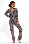 Piżama Cornette 482/264 Aline dł/r S-2XL damska