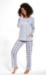 Piżama Cornette 679/254 Good Night dł/r S-2XL damska