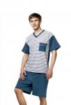 Piżama Kuba Dżentelmen 2071 kr/r męska