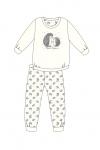 Piżama Cornette Kids Girl 977/142 Forest dł/r 86-128