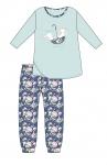 Piżama Cornette Young Girl 031/140 Umbrella dł/r 134-164