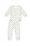 Piżama Cornette Young Girl 033/141 Forest Dreams 2 dł/r 134-164