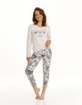 Piżama Taro Omena 2559 dł/r S-XL Z'22