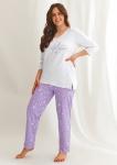 Piżama Taro Isabel 2602 dł/r 2XL-3XL
