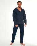 Piżama Cornette 114/50 667701 dł/r M-2XL Rozpinana męska