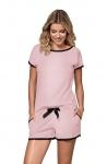 Piżama Nipplex By Night Margot Róż