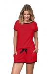 Piżama Nipplex Margot Czerwona S-2XL