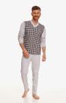 Piżama Taro 2634 dł/r Victor 4XL-6XL Z'22