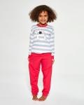 Piżama Cornette Young Girl 475/149 Hello dł/r 134-164