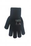 Rękawiczki Rak R-012A z Nadrukiem dziewczęce