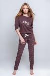 Piżama Sensis Magic 3/4 S-XL