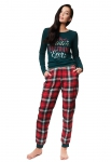 Piżama Henderson Ladies 39221 Zev dł/r S-XL