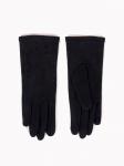 Rękawiczki YO! RS-073/5P Czarne Jety damskie