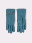 Rękawiczki YO! RS-054/5P Perełki damskie
