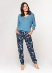 Piżama Cana 584 3/4 S-XL