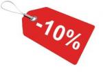 WSZYSTKO TANIEJ NA ŚWIĘTA -10 procent