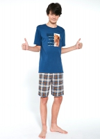 Piżama Cornette F&Y Boy 551/35 Wild kr/r 170-182