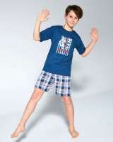 Piżama Cornette Young Boy 790/93 Tiger kr/r 134/164