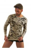 Koszulka Sesto Senso P1034 Thermoactive Military Style dł/r Men