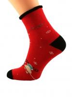 Skarpety Bratex 0907 X-Mass Socks damskie 36-41