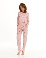 Piżama Taro Luna 2555 dł/r S-XL Z'21