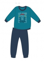 Piżama Cornette Young Boy 267/121 Music dł/r 134-164