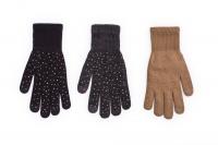 Rękawiczki Rak R-189 ze Złotymi cyrkoniami dziewczęce
