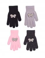 Rękawiczki Rak R-179 z Kokardką dziewczęce