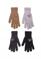 Rękawiczki Rak R-173 z Kokardką dziewczęce