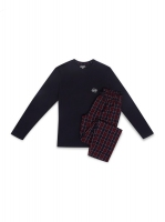 Piżama Henderson 39237 Mace dł/r M-2XL