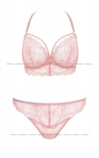 Biustonosz soft Gorteks Charlize/B2 Róż