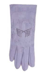 Rękawiczki YO! RS-032 5P Zamsz