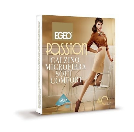 Skarpetki Egeo Passion Microfibra Soft Comfort 40 den Toffie