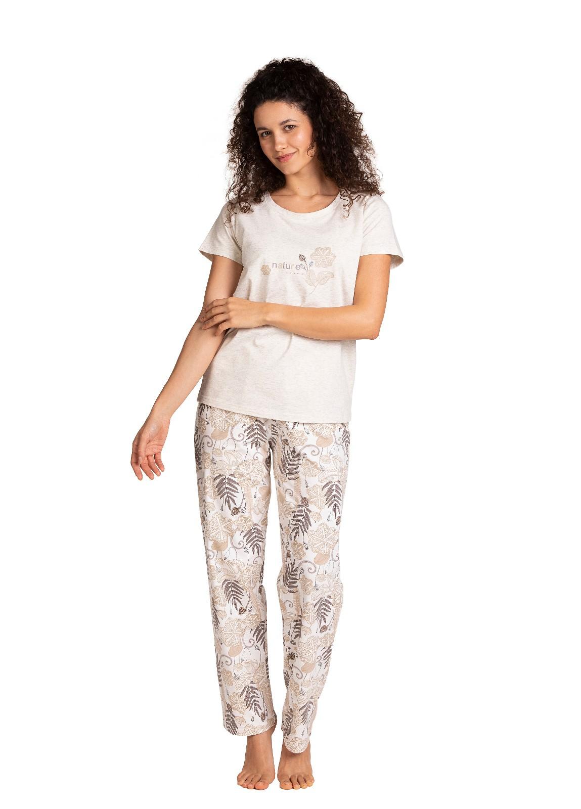 Piżama Lama L-1395 PY kr/r S-XL