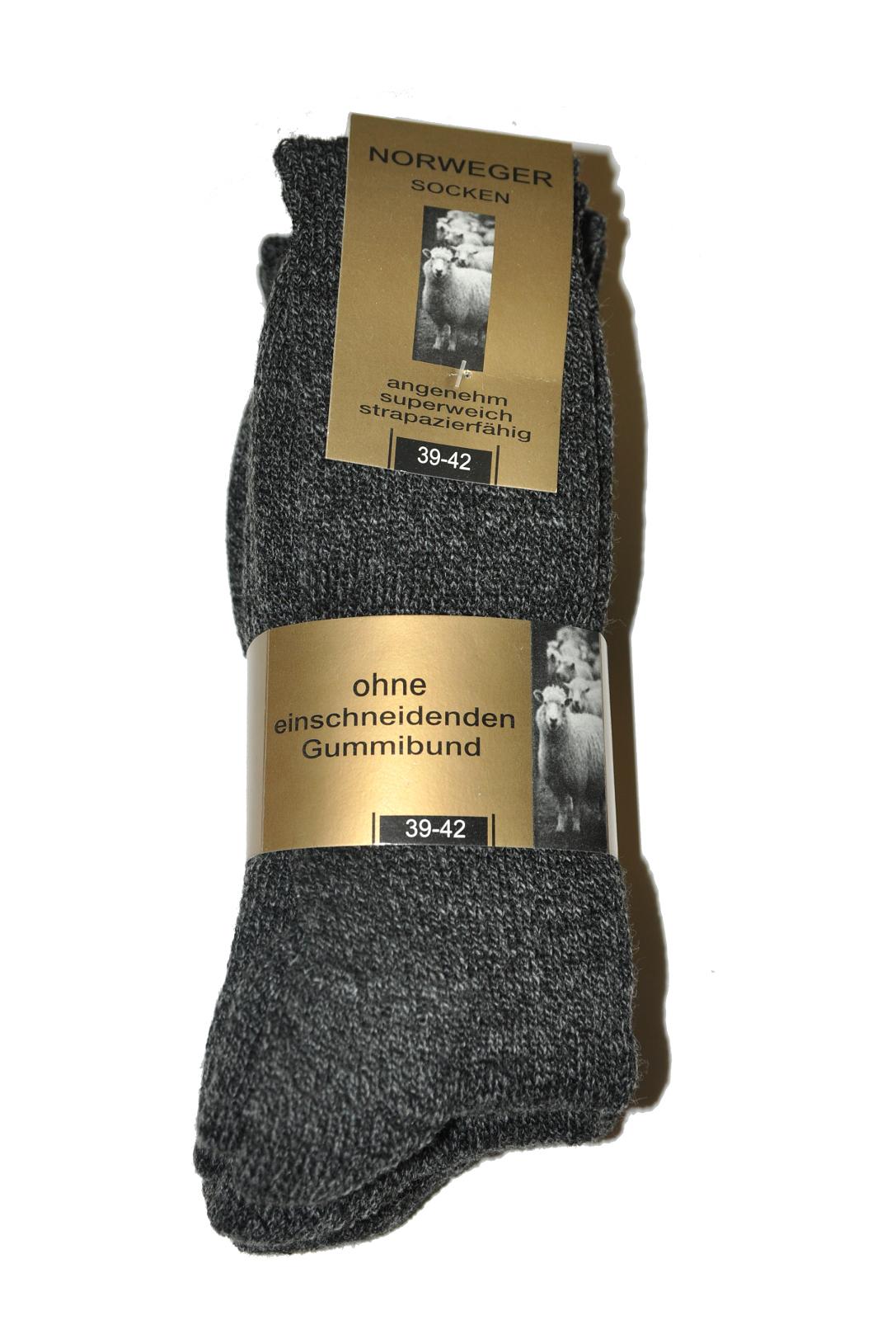 Skarpety WiK 20310 Norweger Socken A'3