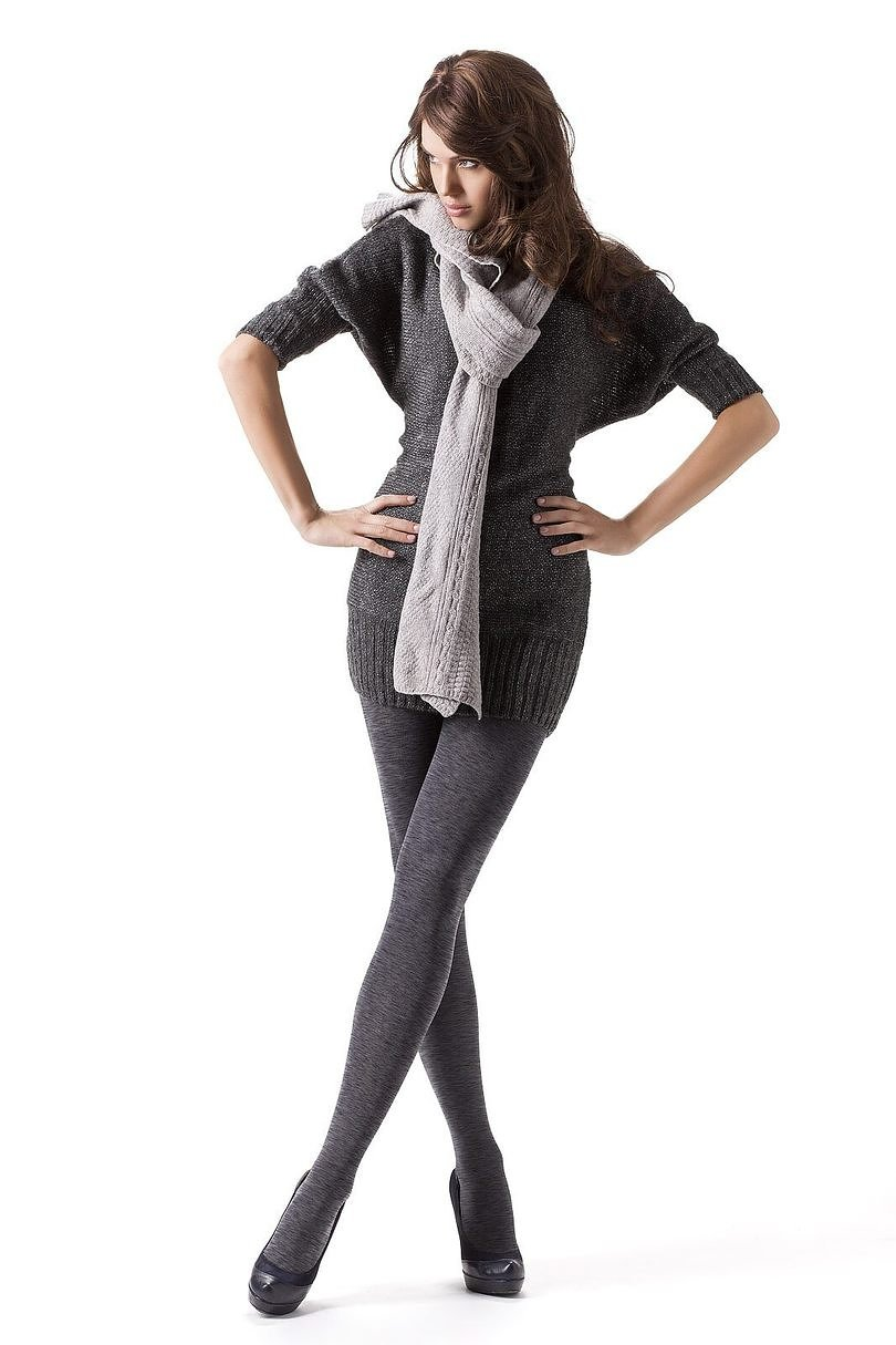Rajstopy Mona Cotton Melange 350 den 3-M